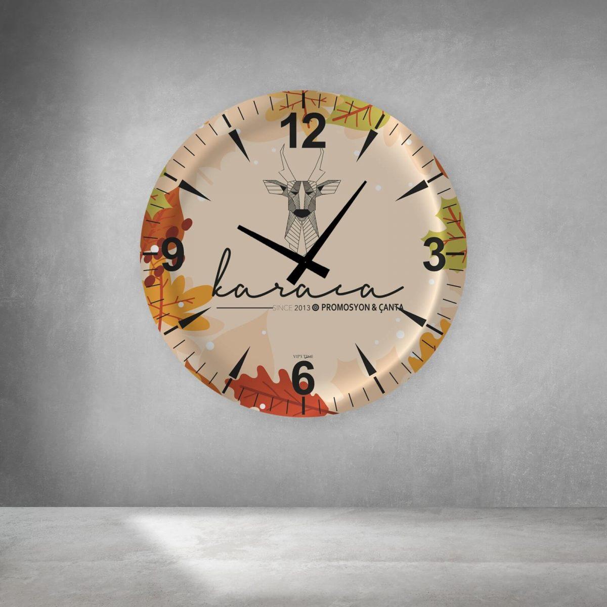 promosyon cam duvar saatleri