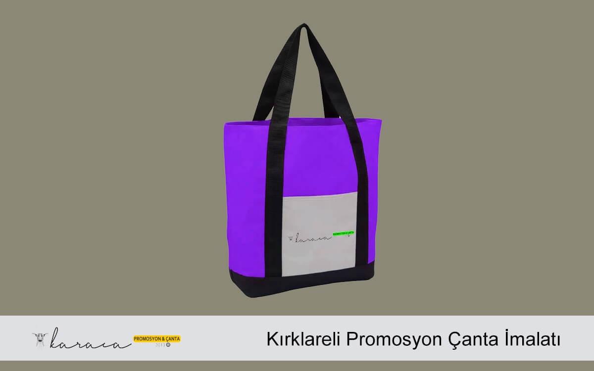 Kırklareli Promosyon Çanta İmalatı