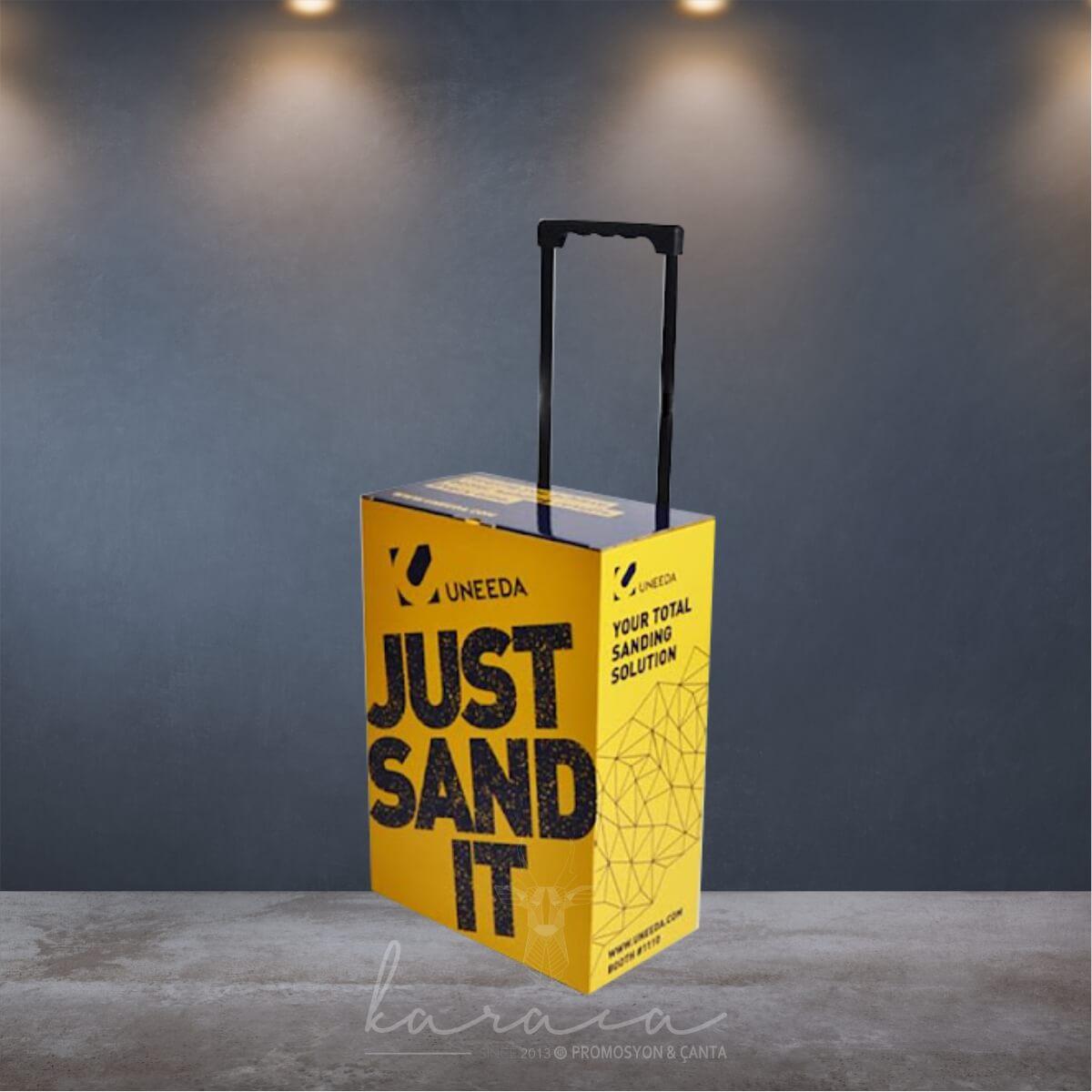 Çekçekli Karton Fuar Çantaları