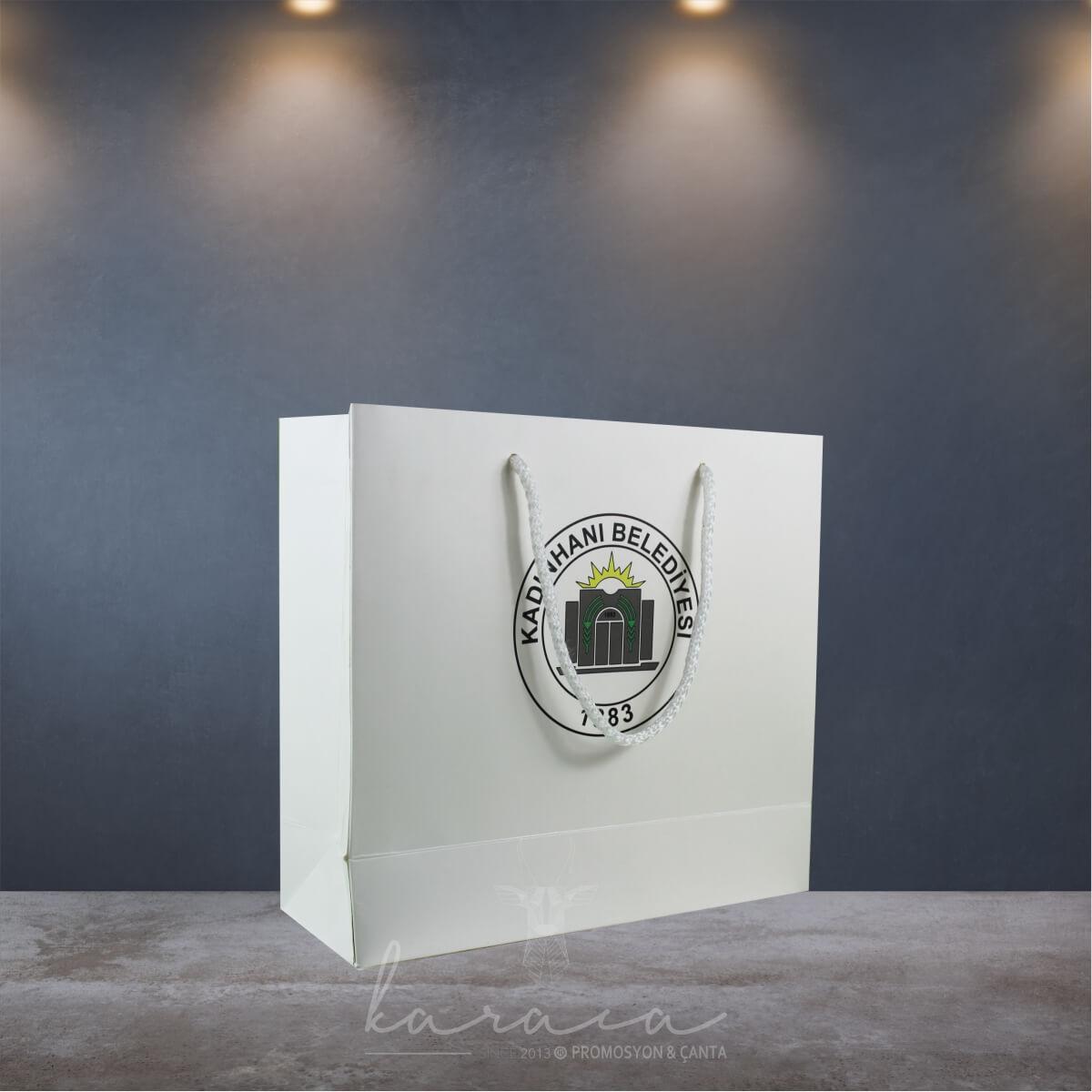 Belediye Baskılı Karton Çantalar